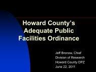 slides - Plan Howard 2030