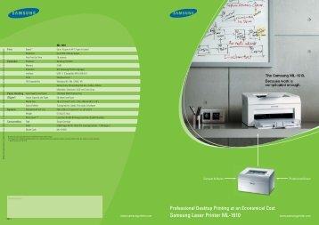 Samsung Laser Printer ML-1610