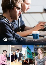 Computer Science and Web Technologies MSc.pdf - Perth College