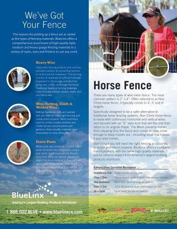 Xpanse Vinyl Fence Guide Bluelinx