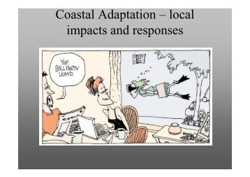 Presentation: Coastal Adaptation – Local Impacts and Responses