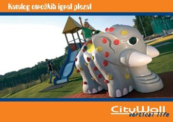 Katalog otroških igral plezal - CityWall