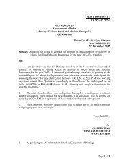 Quotation for award of contract for printing of Annual Report of ...