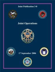 Joint Publication 3-0 - GlobalSecurity.org