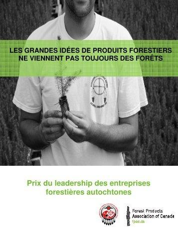 Prix du leadership des entreprises forestières autochtones