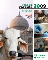 2009 Rapport d'activité - Vétoquinol