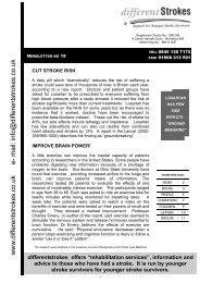 Newsletter 19 - Different Strokes