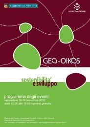 scarica il programma in formato PDF - PTRC Piano Territoriale ...