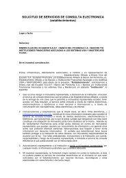 SOLICITUD DE SERVICIOS DE CONSULTA ELECTRONICA ...