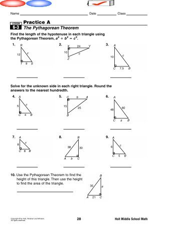 6-3 Practice A.pdf - MrWalkerHomework