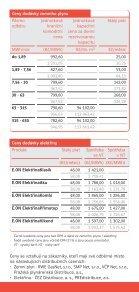 Ceník dodávky zemního plynu a elektřiny E.ON Energie, a.s. (účinný ... - Page 2