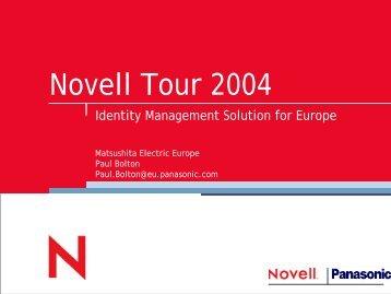Novell Tour 2004