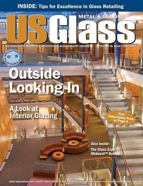 Cover withSpine1:cover.qxd.qxd - USGlass Magazine