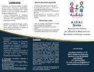 Presentazione AIDAI Sicilia