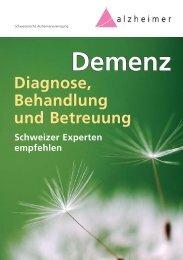 Demenz Demenz - Schweizerische Alzheimervereinigung