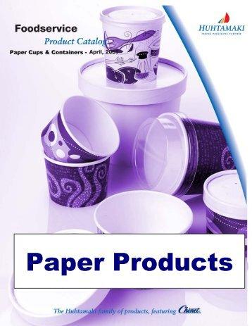 Paper Food Containers, Combo Packs - Huhtamaki
