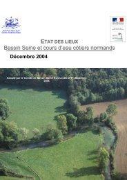 Etat des lieux Bassin Seine - Agence de l'Eau Seine Normandie