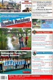 Walka z powodzią w powiecie wieruszowskim - Tygodnik powiatowy