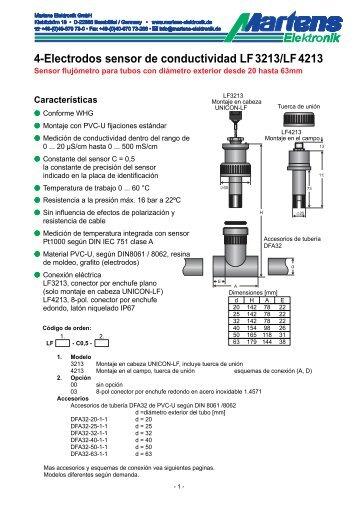 LFX213-00- Prospekt - Martens Elektronik GmbH