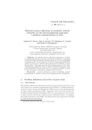 Optimal resource allocation in stochastic activity networks via the ...