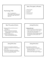 4/27-5/7 - Psychology and Child Development