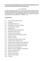 Künstlerische Prüfungsordnung - Staatliche Hochschule für Musik ...