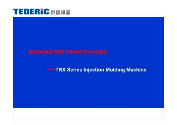 —TRX Series Injection Molding Machine ... - Top-machines