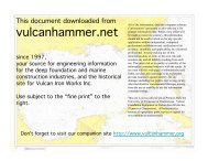 Theoretical Manual of Pile Foundations - vulcanhammer.info