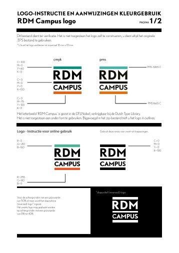 Logo-instructie RDM Campus