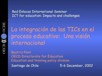 La integración de las TICS en el proceso educativo - Tecnoedu.net