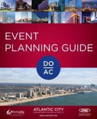 Atlantic City Event Planning guide