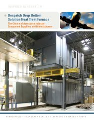 view brochure - Despatch Industries