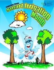 Smart Irrigation Month coloring book - Rain Bird