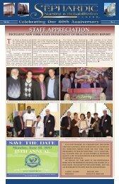 staff appreciation staff appreciation - Sephardic Nursing ...