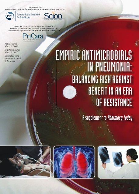 Pneumonia Insert PDF - American Pharmacists Association