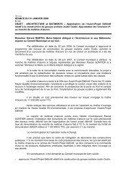 24.Approbation de l'Avant-Projet Définitif relatif à la construction du ...