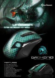 Avago 9500 Laser-Sensor 11 programmierbare Tasten 4 ... - Sharkoon