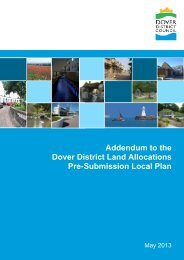 Addendum to the Land Allocations Local Plan - Dover District Council