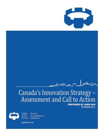 Canada's Innovation Strategy – Assessment and Call to Action ...