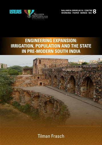 Engineering expansion irrigation, population and the state in pre ...