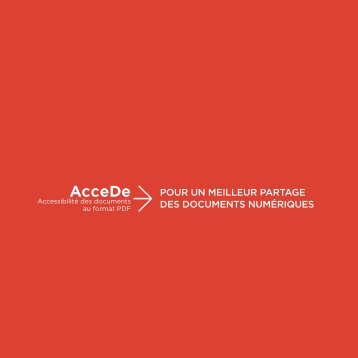 Plaquette AcceDe - AcceDe PDF