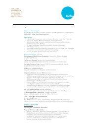 CV + Projekte - utelatzke