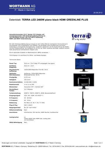 terra lcd 2430w 1920x1200 tft 24 1 s indat. Black Bedroom Furniture Sets. Home Design Ideas
