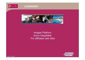 User guide Leonardo PDL V4GB
