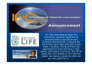 IFC (the International Flight Sim Convention network) would like to ...