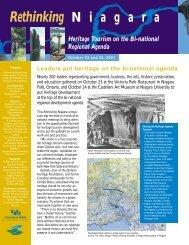 Rethinking Niagara: Heritage Tourism on the Bi ... - Waterfront Trail