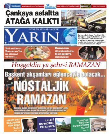 Ankara 9 Temmuz 2013