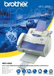 MFC-4800 - Home