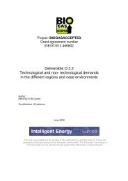 Deliverable D.3.2: Technological and non - PROFACTOR GmbH