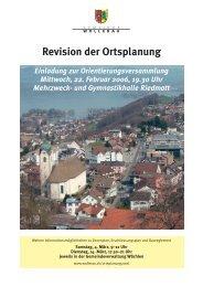 Broschüre 06 Mitwirkung - Gemeinde Wollerau